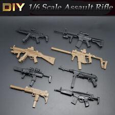 8PCS/SET Assault Rifle 1/6 Scale Fits Marvel Super Hero Figure Guns Accessories