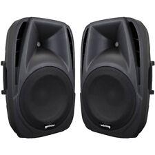 GEMINI ES 8P coppia casse speaker diffusori amplificati 2 vie 300W picco NUOVI
