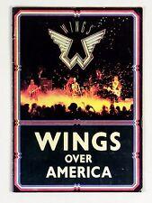 Paul McCartney Wings Over America Tour 1975 1976 Program Book