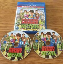 HORRID HENRY THE MOVIE. BLURAY DISC AND DVD. 2 DISC SET.
