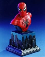 Classic SPIDER-MAN mini bust/statue~Amazing~Bowen Designs~movie~Avengers~NIB