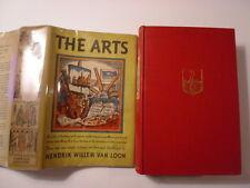 The Arts, Hendrik Willem Van Loon, DJ, 1937, 1st Book Club Edition?