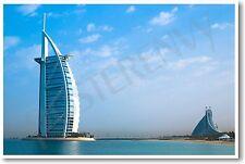 Burj al Arab Hotel Dubai UAE - NEW World Travel Architecture POSTER