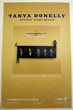 Tanya Donelly Whiskey Tango Ghosts Poster 4AD Throwing Muses Belly