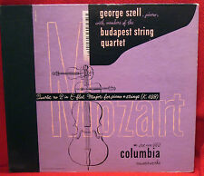"SZELL BUDAPEST STRING QUARTET Mozart No 2 COLUMBIA 3 DISC 12"" 78 SET MM-669"
