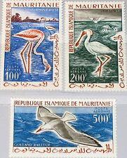 MAURITANIA MAURETANIEN 1961 178-80 C14-16 Flamingoes Birds Vögel Fauna MNH