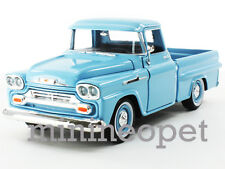 MOTORMAX 79311 1958 CHEVROLET APACHE FLEETSIDE PICK UP TRUCK 1/24 LIGHT BLUE