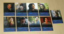 2014 Cryptozoic Once Upon a Time Character Bios insert chase 9-card set C1-C9