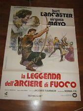 manifesto,2F The Flame and the Arrow,La leggenda dell'arciere di fuoco LANCASTER