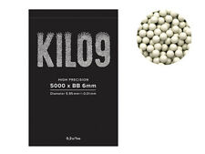 UK STOCK - AIRSOFT 5000RD ROUND 0.20G BB BULLETS AMMO 6MM WHITE PELLETS