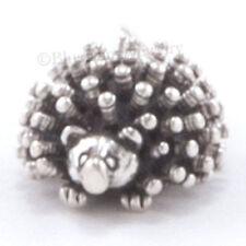 3D HEDGEHOG JEWELRY hedge 925 Bracelet Charm Pendant .925 Sterling Silver cute!