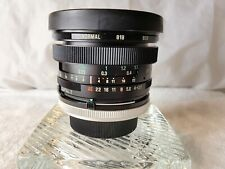 Tamron SP 17mm f3.5 Adaptall 2 Wide Angle Lens in Canon FD mount back.