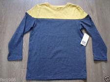 T-shirts et hauts noirs coton mélangé à manches longues pour garçon de 2 à 16 ans