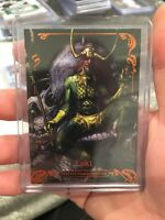 2018 UD MARVEL MASTERPIECES LEGENDARY ORANGE #82 LOKI  89/99