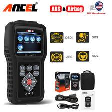 ANCEL OBD2 ABS Airbag SRS Crash Data Reset Engine Check Scanner Tool AD610 Elite
