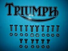 Triumph T140 V E ES Bonneville TR7 Edelstahl Schutzblech Hinten Schrauben Set