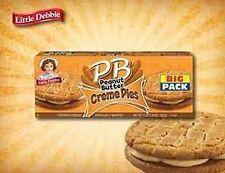 Little Debbie Peanut Butter Creme Pies  Big Pack 18.39 Oz (3 Boxes)