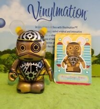 "Disney Vinylmation 3"" Park Set 1 Robots Steampunk Bot with Card