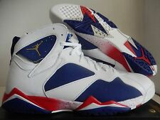 NIKE AIR JORDAN 7 RETRO OLYMPIC TINKER ALTERNATE WHITE-GOLD SZ 18 [304775-123]