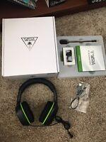 Turtle Beach Ear Force XO Four Stealth Black Headband Headsets for Microsoft Xb…