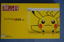 Nintendo 3DS XL Pokemon Pikachu Edition Complete In Box with Pokemon Y Game