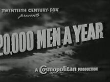 20,000 MEN A YEAR (1939) DVD RANDOLPH SCOTT, PRESTON FOSTER