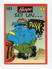 figurina card - HARPO MASTER CARDS  - numero 151