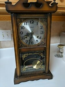 Alaron 31 Day Winding Chime Wall or Mantle Clock