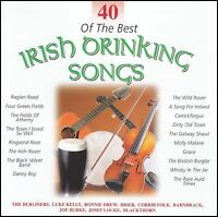 40 OF THE BEST IRISH DRINKING SONGS (2 CD) DUBLINERS~BRIER~BARNBRACK +++ *NEW*