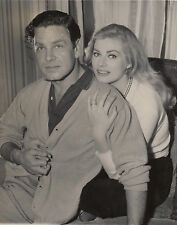 Photo originale Anita Ekberg  Anthony Steel