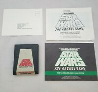 Star Wars The Arcade Game Colecovision cartridge Parker Brothers original tested