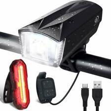 Set de Lampe Vélo LED IP65 et Contrôleur à Distance - Noir (0669818775939)