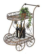 chariots de nourriture en métal 10-0759 Table d'appoint 70 cm cuisine