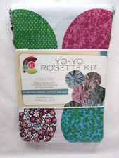 Yo - Yo ROSETTES Kits - Cut & Sew Craft - Creative Cuts - You Choose - Makes 86