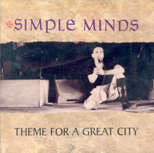 SIMPLE MINDS 'Theme For A Great City' Rare Japan 2005 2CD Live 1981 & 1982!