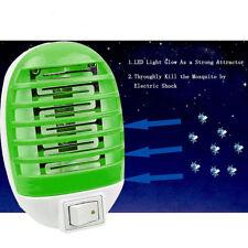 Repelente Luz de noche Lampara mata mosquitos Insecto Zapper LED Electric