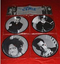 "THE CURE Interview Picture Disc Collection 1993 UK 4 x 7"" vinyl BAKPAK1005"