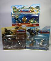 SKYLANDERS SUPERCHARGERS 3 Packs NEU Set Figuren für PS3 PS4 XBOX360 Wii U