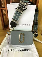 MARC JACOBS Logo Strap Snapshot Small Camera Bag  SLATE MULTI sales