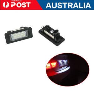 For BMW BMW E39 M5 E70 E71 X5 X6 E60  2Pcs License Plate Lights Bulb LED AU