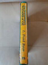 The Wonderful Wizard Of Oz~L. Frank Baum~Folio Society~HC SLIPCOVER** SEALED**