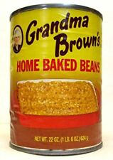 Grandma Brown's Home Baked Beans (Pack of 3) 22 oz Cans