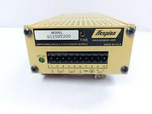 Acopian W125NT200 Umschaltung Geregelten Stromversorgung