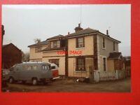 PHOTO  ESSEX CHELMSFORD RAILWAY STATION 1985 EXTERIOR VIEW
