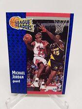 1991 Fleer League Leaders #220 Michael Jordan NM Pack Fresh