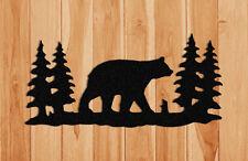 BEAR WALL HANGING-WILDLIFE DECOR-GIFTS-CLINGERMANS #WBR161