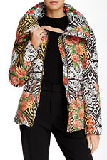 NWT Versace Versus Collection Printed Quilted Jacket Italian Size 38, US Size 2