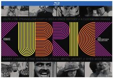 Stanley Kubrick: The Masterpiece Collection [New Blu-ray] Boxed Set, With Book