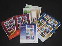 7 Blocs feuilles de 40 timbres de Grèce HELLAS 2002 & 2003 Neufs MNH 52,24 euros