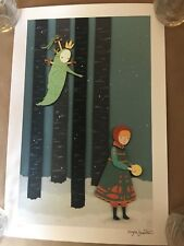 """The Stray print by Meghan Stratman Giclee Signed & Numbered of 20 Approx 10""""x15"""""""